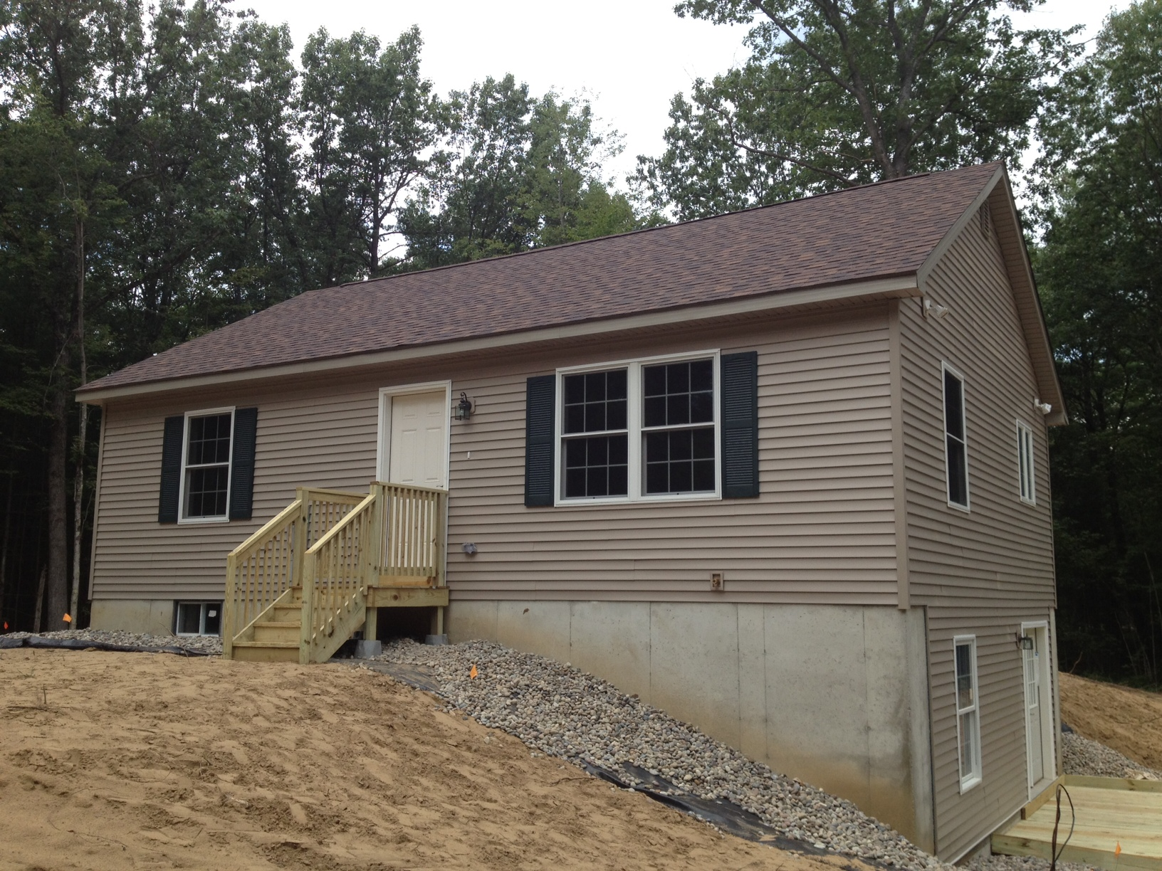 Upstate modular homes serving the albany saratoga for Cheapest house foundation